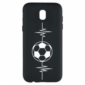 Etui na Samsung J5 2017 Namiętna piłka nożna