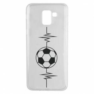 Phone case for Samsung J6 Namiętna piłka nożna