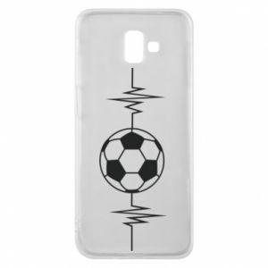 Etui na Samsung J6 Plus 2018 Namiętna piłka nożna