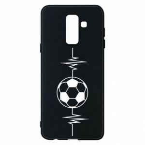 Phone case for Samsung A6+ 2018 Namiętna piłka nożna