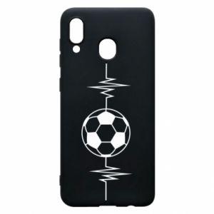 Phone case for Samsung A20 Namiętna piłka nożna