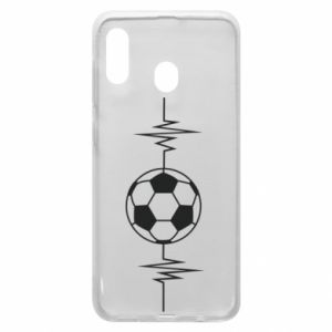 Phone case for Samsung A30 Namiętna piłka nożna