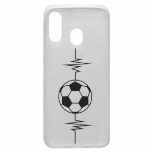 Phone case for Samsung A40 Namiętna piłka nożna