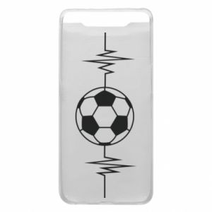 Etui na Samsung A80 Namiętna piłka nożna