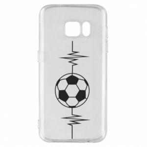 Phone case for Samsung S7 Namiętna piłka nożna