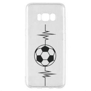 Phone case for Samsung S8 Namiętna piłka nożna