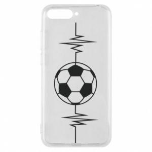 Phone case for Huawei Y6 2018 Namiętna piłka nożna