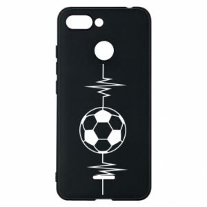 Phone case for Xiaomi Redmi 6 Namiętna piłka nożna