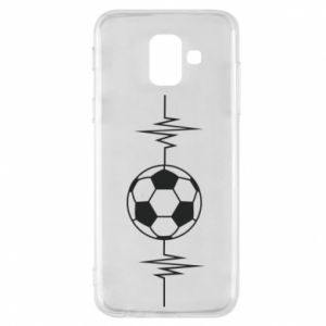 Phone case for Samsung A6 2018 Namiętna piłka nożna