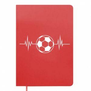 Notepad Namiętna piłka nożna