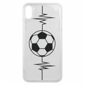 Phone case for iPhone Xs Max Namiętna piłka nożna