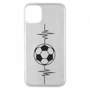 Phone case for iPhone 11 Pro Namiętna piłka nożna