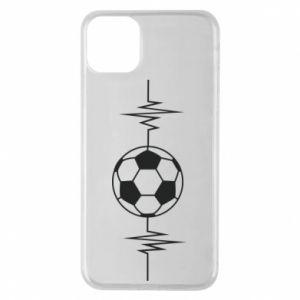Phone case for iPhone 11 Pro Max Namiętna piłka nożna
