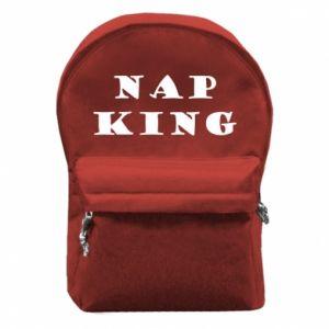 Plecak z przednią kieszenią Nap king