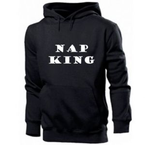 Men's hoodie Nap king