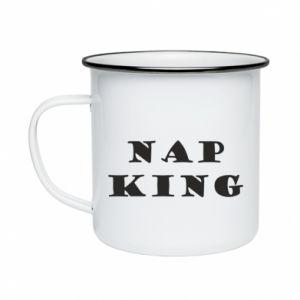 Kubek emaliowane Nap king