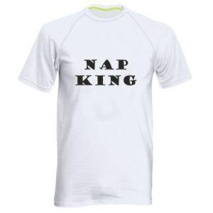 Męska koszulka sportowa Nap king