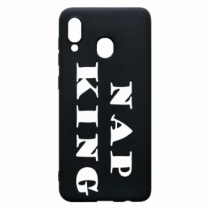 Phone case for Samsung A20 Nap king