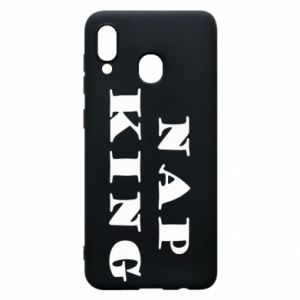 Phone case for Samsung A30 Nap king