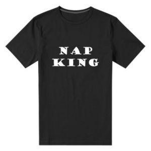 Męska premium koszulka Nap king