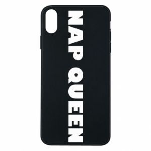 Etui na iPhone Xs Max Nap queen