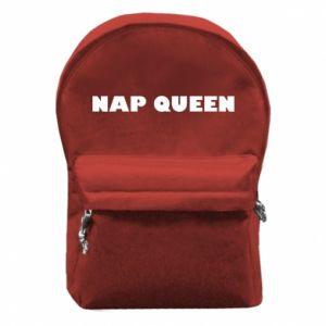 Plecak z przednią kieszenią Nap queen