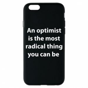 Etui na iPhone 6/6S Napis: An optimist