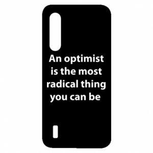 Etui na Xiaomi Mi9 Lite Napis: An optimist