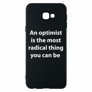 Samsung J4 Plus 2018 Case Inscription: An optimist