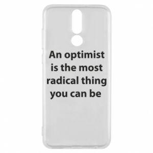Etui na Huawei Mate 10 Lite Napis: An optimist