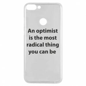 Etui na Huawei P Smart Napis: An optimist