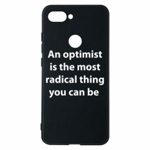 Phone case for Xiaomi Mi8 Lite Inscription: An optimist