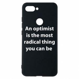 Etui na Xiaomi Mi8 Lite Napis: An optimist