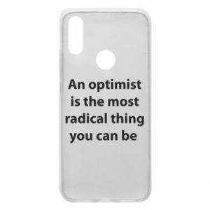 Xiaomi Redmi 7 Case Inscription: An optimist