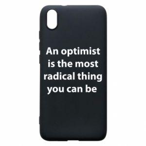 Etui na Xiaomi Redmi 7A Napis: An optimist