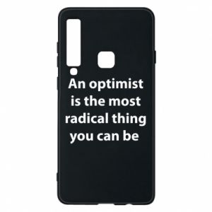 Etui na Samsung A9 2018 Napis: An optimist
