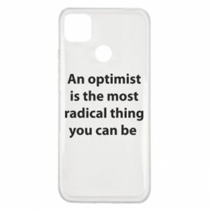 Xiaomi Redmi 9c Case Inscription: An optimist