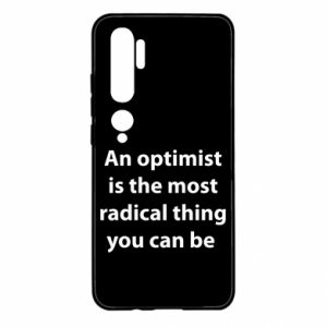 Xiaomi Mi Note 10 Case Inscription: An optimist