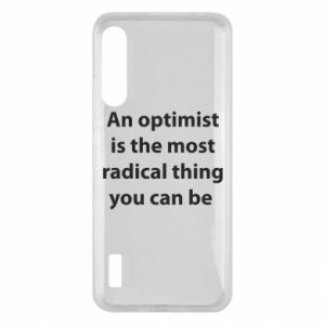 Etui na Xiaomi Mi A3 Napis: An optimist