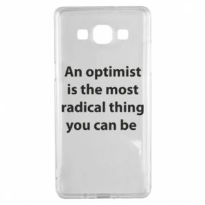 Samsung A5 2015 Case Inscription: An optimist