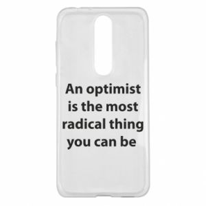 Nokia 5.1 Plus Case Inscription: An optimist