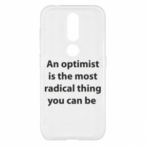 Etui na Nokia 4.2 Napis: An optimist