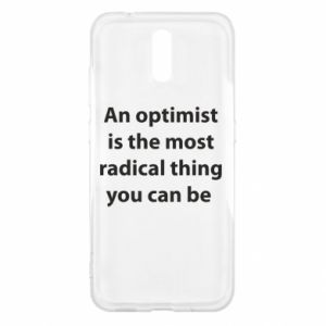 Etui na Nokia 2.3 Napis: An optimist