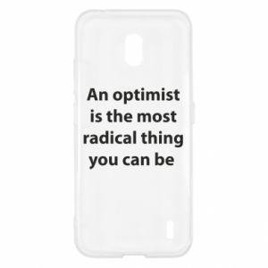Etui na Nokia 2.2 Napis: An optimist