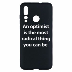 Huawei Nova 4 Case Inscription: An optimist