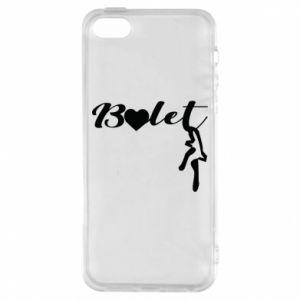 Etui na iPhone 5/5S/SE Napis: Balet
