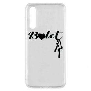 Etui na Huawei P20 Pro Napis: Balet