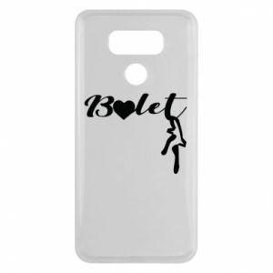Etui na LG G6 Napis: Balet