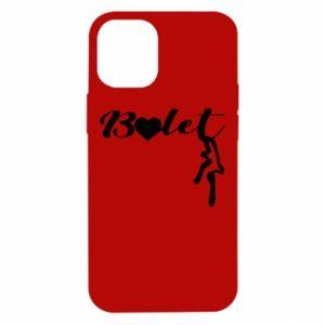 Etui na iPhone 12 Mini Napis: Balet