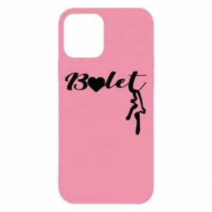 Etui na iPhone 12/12 Pro Napis: Balet